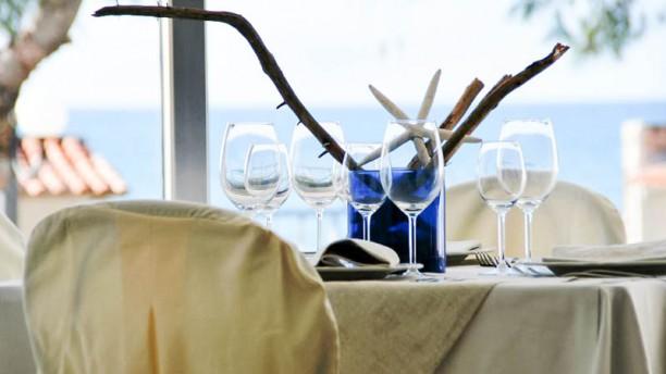 Le 4 Stagioni tavolo con vista al mare