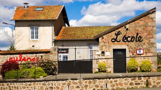 Auberge l'École Façade du restaurant