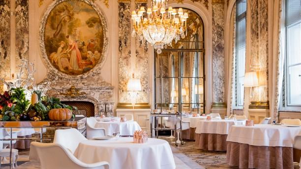Restaurant le Meurice Alain Ducasse Salle du restaurant