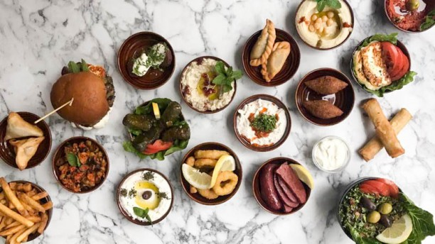 ... Litani Lebanese Kitchen Föreslagen Rätt ...