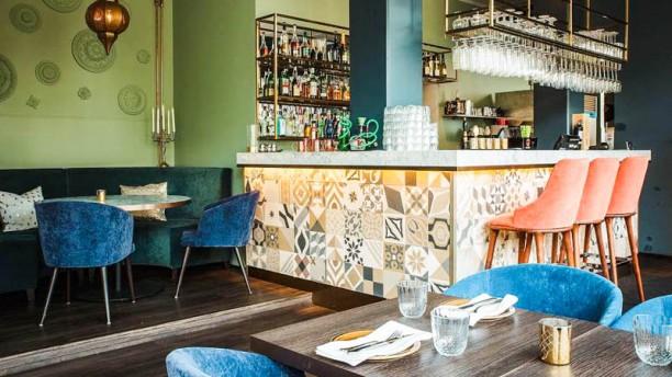 Litani lebanese kitchen Restaurangens salong