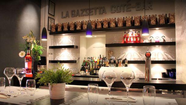 Gazzetta Ristorante salle