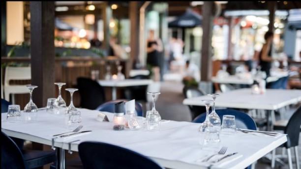 Village Cafe Restaurant & Bar Dinner setting