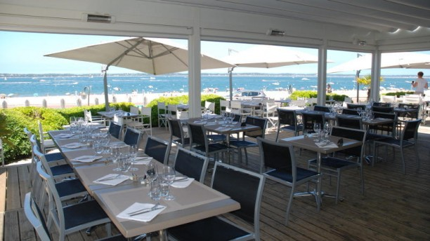 Restaurant Bassin Arcachon Vue Mer