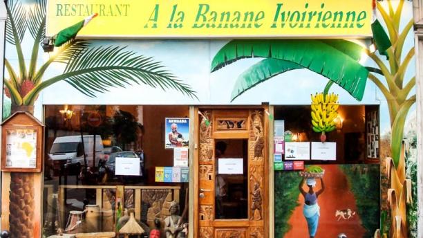 A la Banane Ivoirienne Le restaurant