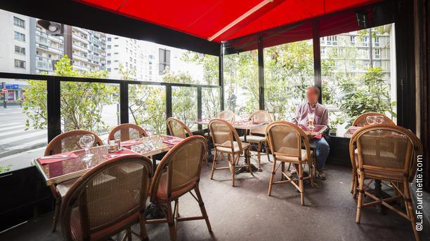 Restaurant le guersant paris 75017 ternes porte - Auberge dab porte maillot restaurant ...