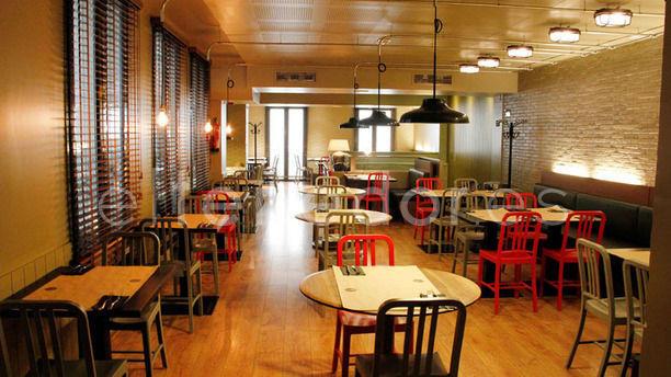 New York Burger - Recoletos Vista sala