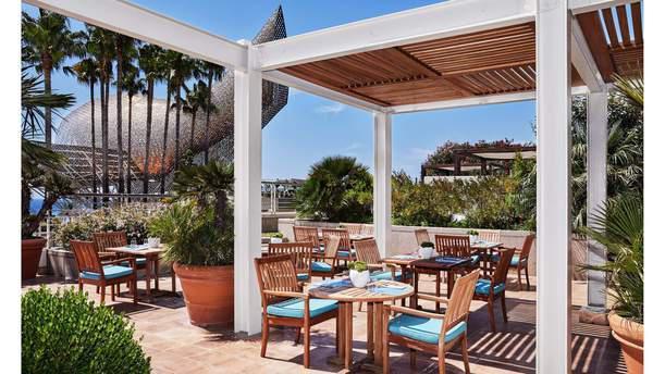 Marina - Hotel Arts terraza