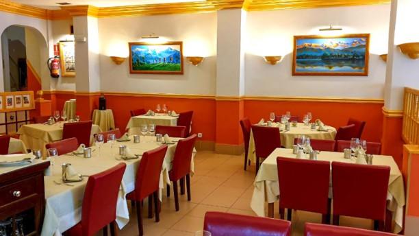 Lumbini Tandoori Sala del restaurante