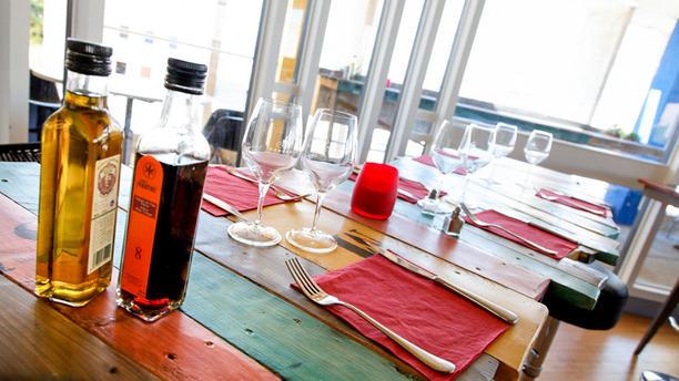 Rowing Club Restaurant Salle intérieur