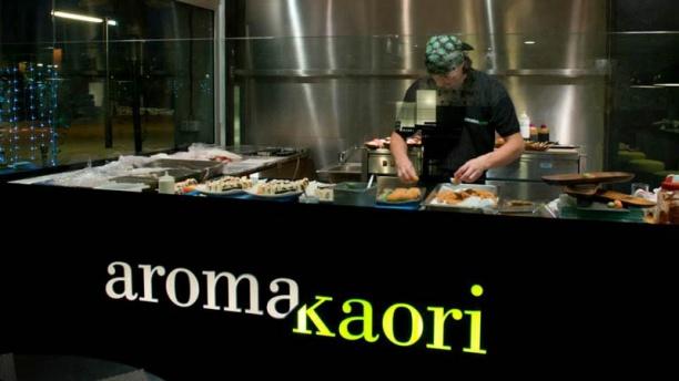 Aroma Kaori Port Badalona Vista cocina
