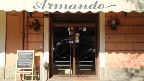 Ristorante Armando a San Lorenzo entrata