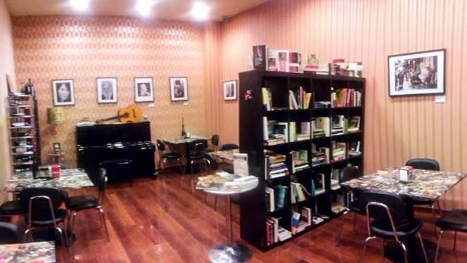 Vista sala - Ateneo Bistro Libreria, Aranjuez