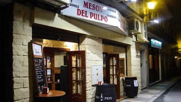 El Pulpo Vista entrada