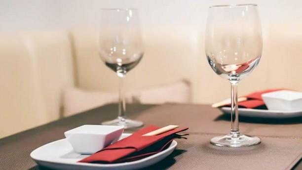 MUHAI Sushi Bar Detalhe da mesa