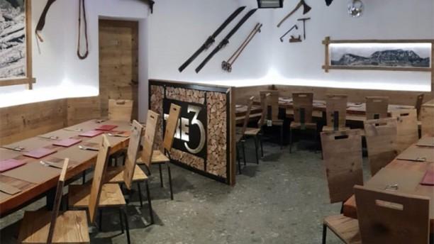 Tre3 Après ski, Bar e Pizzeria Vista della sala