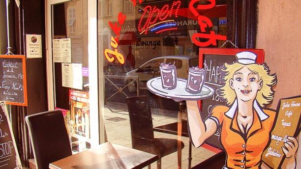 Juke House Café Détail de la décoration