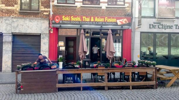 Saki Sushi Façade