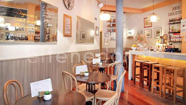 Primavera Café vista interior