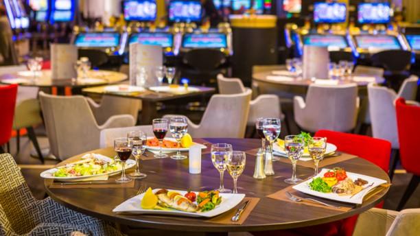 Golden Restaurant - Casino Barrière Ruhl Nice Vue de la salle