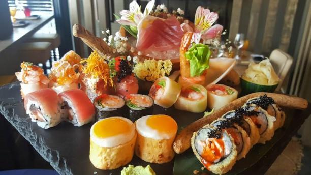 Kanpai Downtown Sugestao sushi
