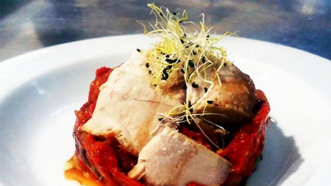 Sugerencia del chef - La Almazara, Aranjuez