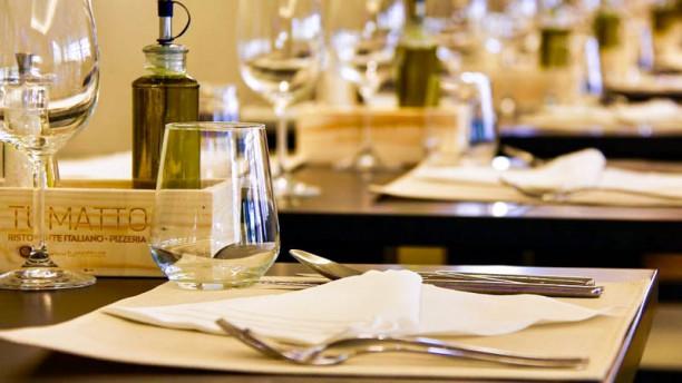 Tumatto Ristorante Italiano e Pizzaria Detalhe da mesa