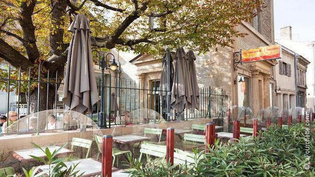 Restaurant de Fourvière terrasse