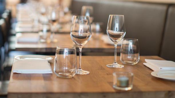 Restaurant Johannes Detail van de tafel