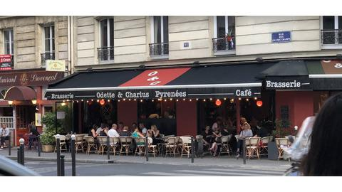 Odette et Charlus, Paris