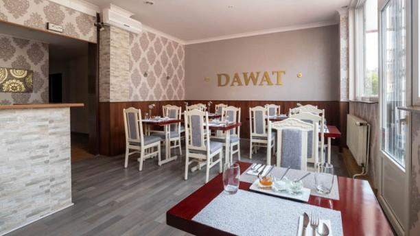 Dawat Restaurant Indien Vue de la salle
