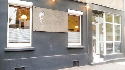 la Table d'Aristide, Nantes