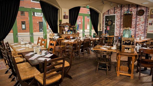 Taveerne Gaston Het restaurant
