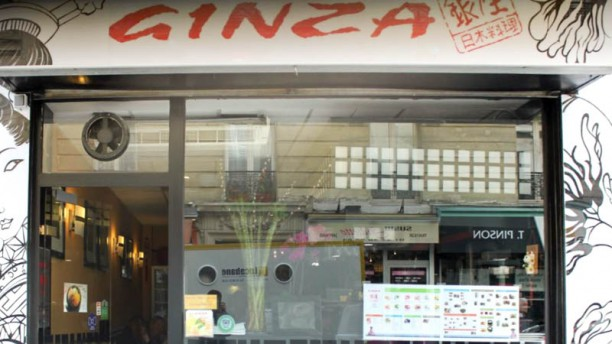 Ginza devanture