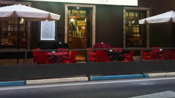 Pizzeria Caterina Vista entrada
