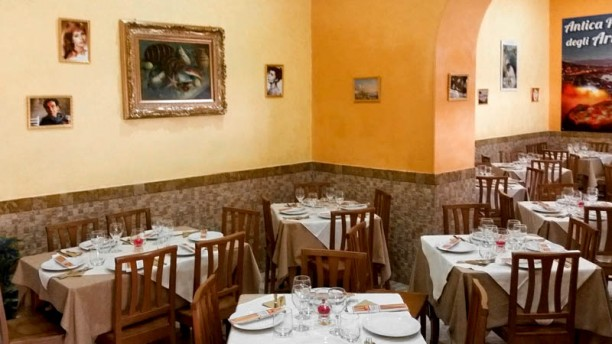 Antica Pizzeria degli Artisti sala