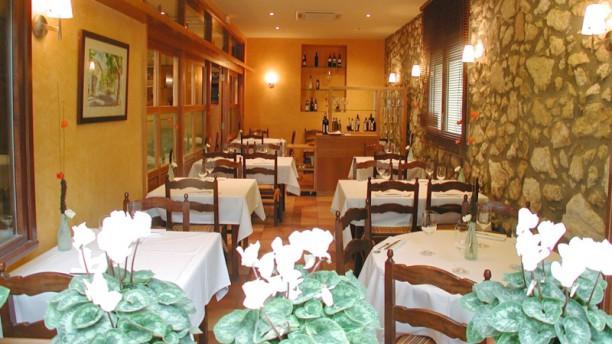 Cal Xim Sala del restaurante
