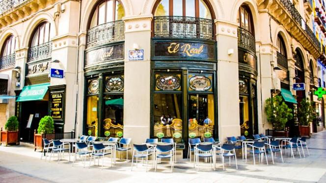 La fachada - El Real, Zaragoza