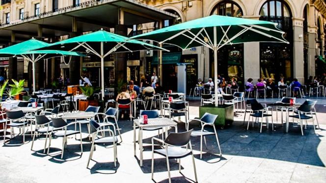 La terraza - El Real, Zaragoza