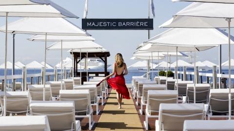 restaurant - La Plage - Hôtel Majestic Barrière - Cannes