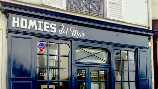 Homies del Mar Façade du restaurant