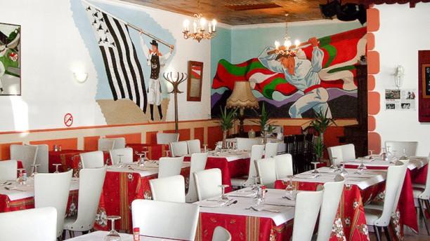 L'Auberge Basque Vue de la salle