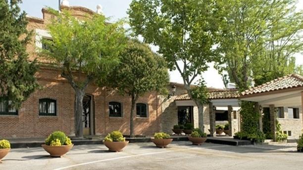 Club Cantoblanco Vista de la entrada