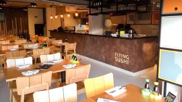 Flying Sushi - Taboão da Serra Vista do interior