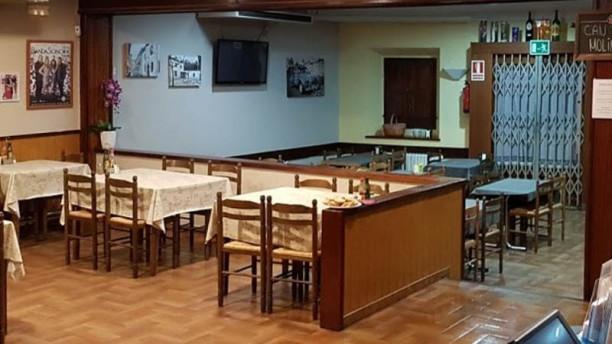 Restaurant Can Toni Molins Vista sala