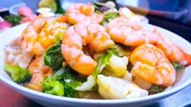 TRIBO SUSHI BAR Yakissoba de camarão