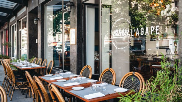 L Agape In Genève Restaurant Reviews Menu And Prices