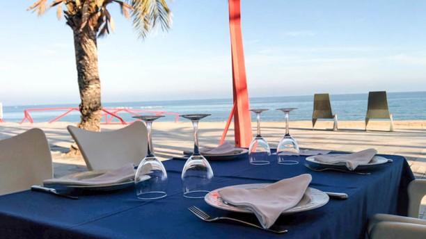 Vinya D'alos vista terraza paseo maritimo vinaros restaurante vinyadalos