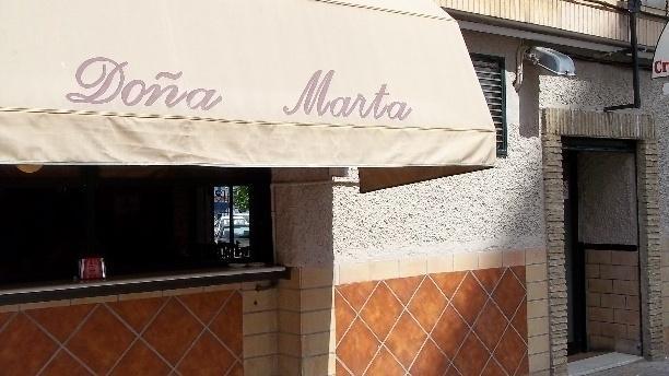 Doña Marta Vista fachada