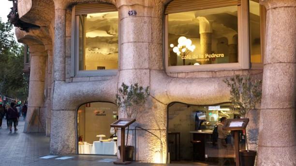 Café de la Pedrera Vista fachada